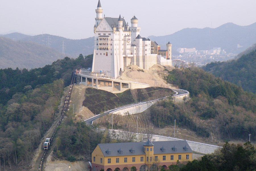 城のエリア:太陽公園